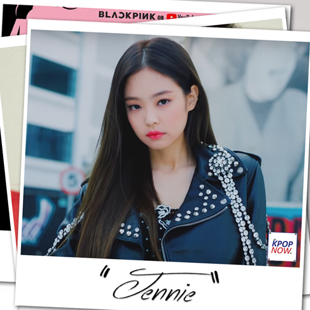 Polaroid BLACK PINK's Jennie by At Kpop Now