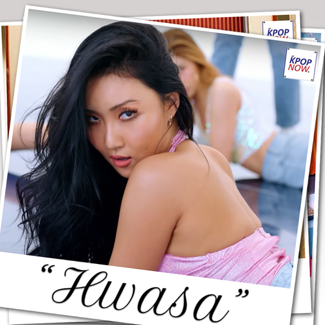 Polaroid Hwasa by At Kpop Now
