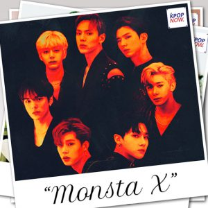 MONSTA X Polaroid by AT KPOP NOW
