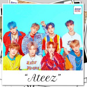 ATEEZ polaroid by AT KPOP NOW