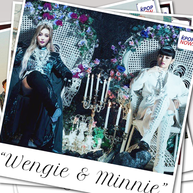 "WENGIE x MINNIE release that fire with mv ""Empire""!"