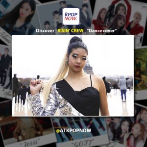 RISIN' CREW Discover design by AT KPOP NOW